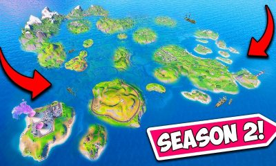 Fortnite's new season has flooded the map