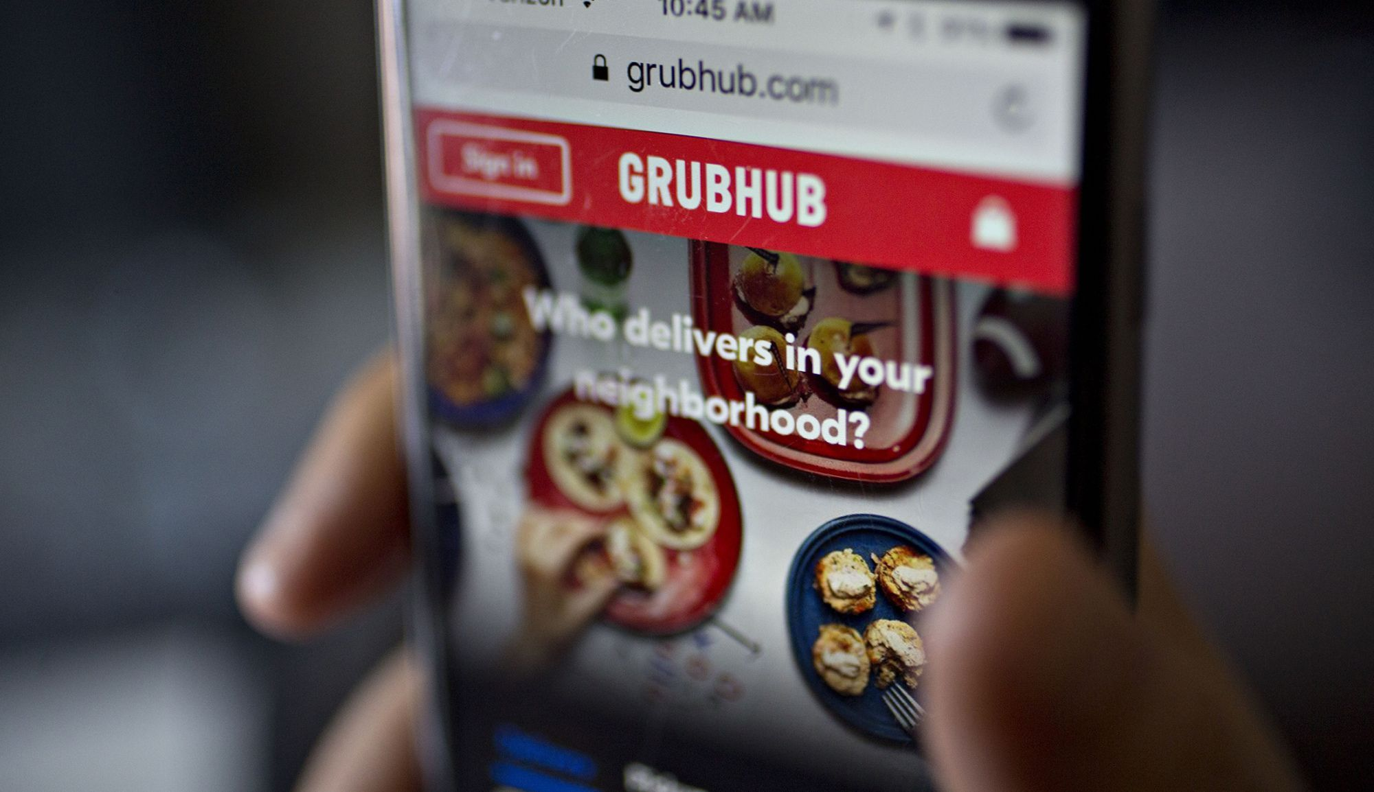 Just Eat Takeaway CEO Defends $7.3 Billion Grubhub Deal