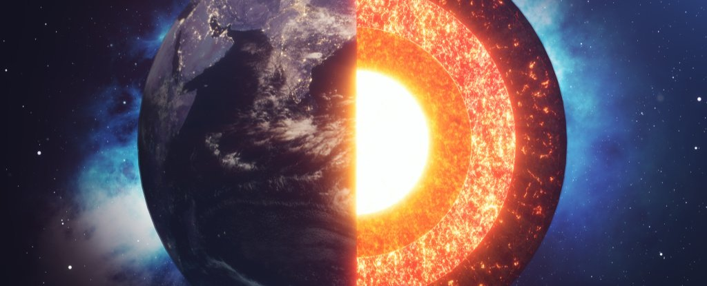 Scientists Detect Surprise Structures Wrapped Around Earth's Core