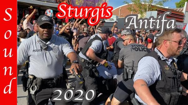 Antifa Goes To Sturgis Motorcycle Rally [Video]