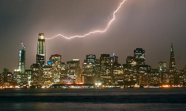 San Francisco Bay Area: Rare Lightning Strikes Spark Widespread Wildfires
