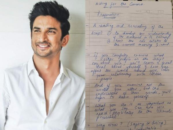 Sushant Singh Rajput's Diary Reveals His Future Plans: Death Cause/Reason Still A Mystery